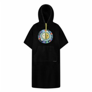 All Of Chrome  Sun Age Terry Unisex Poncho