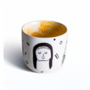Beril Nur Denli  Faces Porcelain Cup