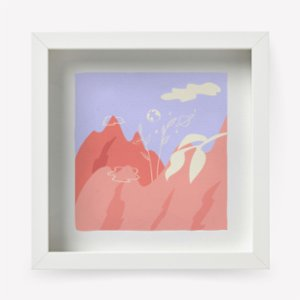 Superb Craftery  The Great Show in the Sky Art Print