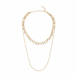 Miklan Istanbul  Anella 2 Layered Necklace