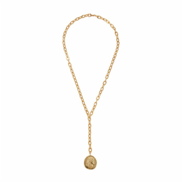Miklan Istanbul Medallion Y Necklace