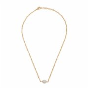 Miklan Istanbul  Lola Pearl Gold Necklace