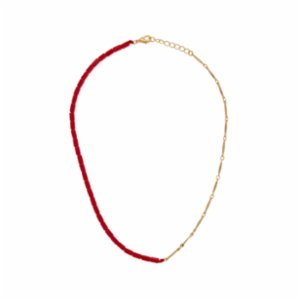 Miklan Istanbul  Better Half Red Necklace