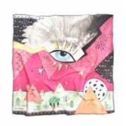 Be Mine Design  Falling Angels Silk Scarf