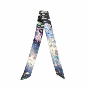Be Mine Design  Third Eye Dreams Silk Thin Scarf