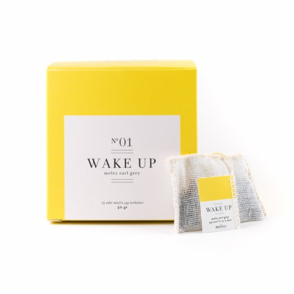 Melez Tea Wake Up - Early Grey 50 G