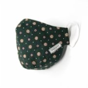 Endemique Studio  Deep Green Pattern Washable Face Mask