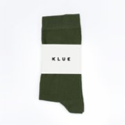 Klue Concept  Klue Solid Socks - Green