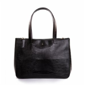 Noula  Lizard Print Leather Shoulder Bag