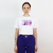 Fifty Pieces  Angel Crop T-Shirt