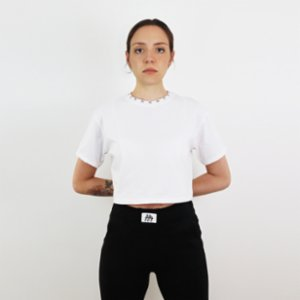 Fifty Pieces  Fifty Neck Crop T-Shirt