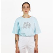 Fifty Pieces  Gathered Oversize T-Shirt
