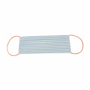 Atelier 99  Blue Striped Washable Cotton Mask