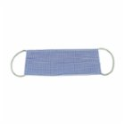 Atelier 99 Blue Gingham Washable Cotton Mask