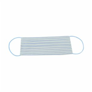 Atelier 99  Blue White Stripes Washable Cotton Mask