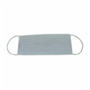 Atelier 99  Gray Striped Washable Cotton Mask