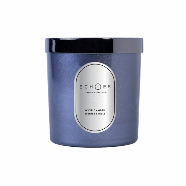 Echoes Lab Mystic Amber Scented Dual Wick All Natural Candle