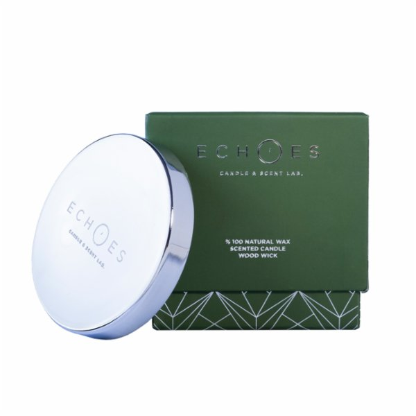 Echoes Lab Nordic Breeze Scented Dual Wick All Natural Candle