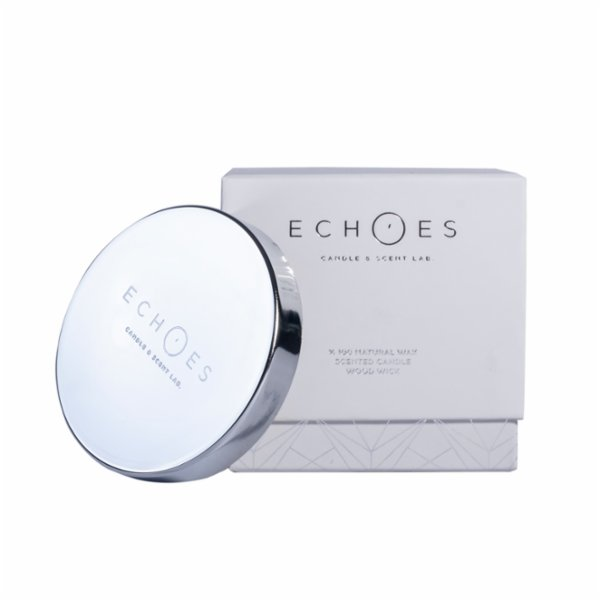 Echoes Lab Peach Blossom Scented Dual Wick All Natural Candle