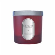 Echoes Lab  Provence Lavender Scented Dual Wick All Natural Candle