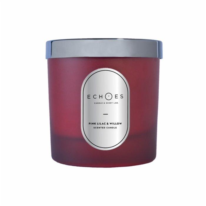 Echoes Lab Satsuma & Clementine Scented Dual Wick All Natural Candle