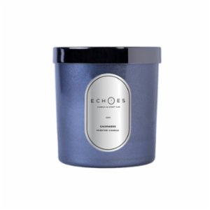 Echoes Lab  Cashmere Scented WoodWick All Natural Candle