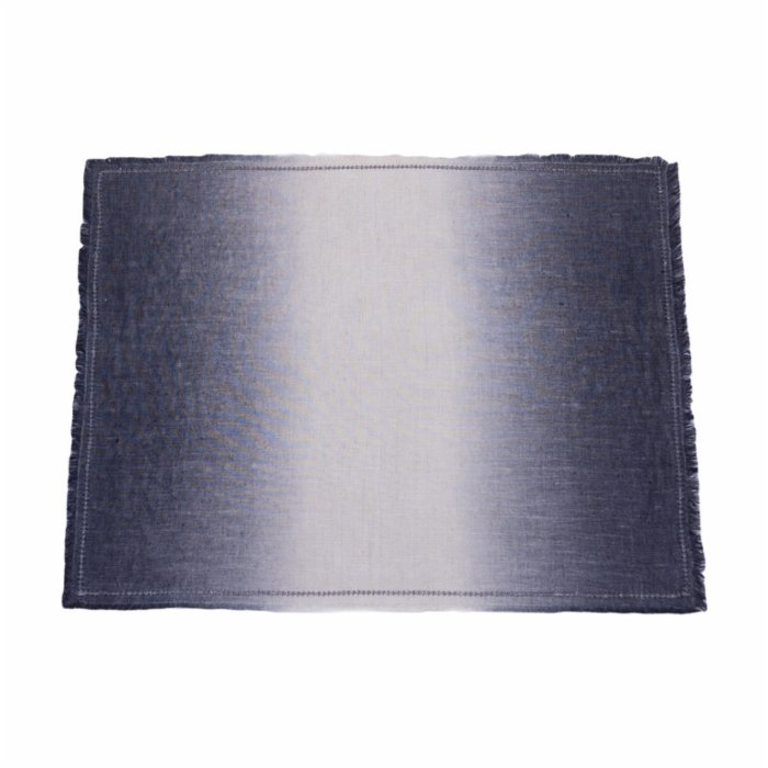 Atelier 99 Stone House  Natural Linen Placemat Anthracite