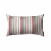 Fineroom Living  Bohem - Striped Pillow With Ethnic Design