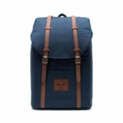 Herschel Supply Co.  Retreat Indigo Denim Crosshatch Backpack