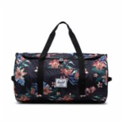 Herschel Supply Co.  Sutton Summer Floral Black Travel Bag