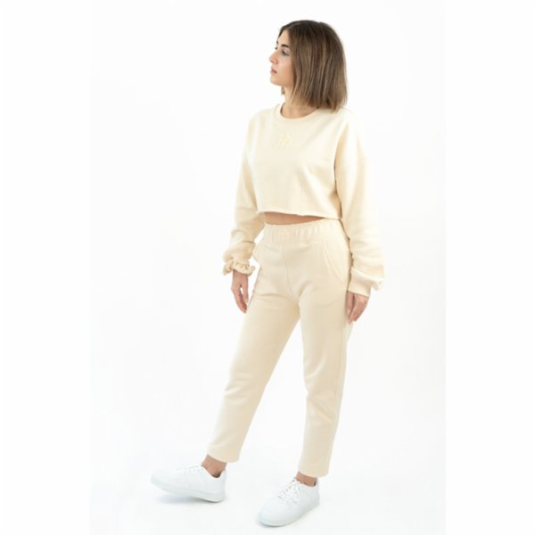Fifty Pieces Oversize Crop Sweat