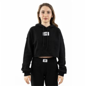 Fifty Pieces  Oversize Crop Hoodie