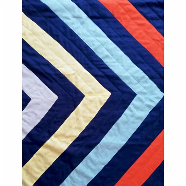 2 Stories Zigzag Spreadsheet / Pillow