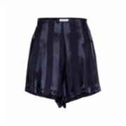 Simple Favor  Pleated Striped Shorts - I
