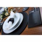 Gorgons Danae Leather Placemat Set