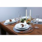 Gorgons Europa Felt Placemat Set with Leather Detail