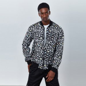 Dear Deer  Splashy Bomber Jacket