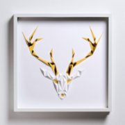 Paperpan	  Golden Antlers Artwork