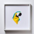Paperpan	 Macaw Portrait Artwork