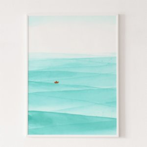 Wallthinks  Wave Matt Fibre Printing