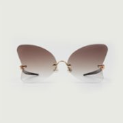 Lamorf  Butterfly Vintage Ithal Glasses