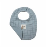 Auntie Me  Quarry Double Face Irregular Checked Bib