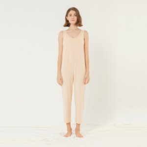 sensessentials  Rose V Neck Jumpsuit