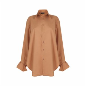 The Jacquelyns  TJ Classic Camel Shirt