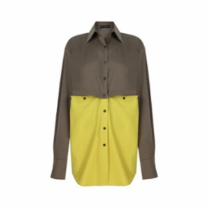 The Jacquelyns  TJ Two in One Lime Shirt