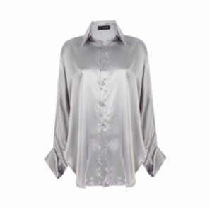 The Jacquelyns  Tj Classic Silver Shirt