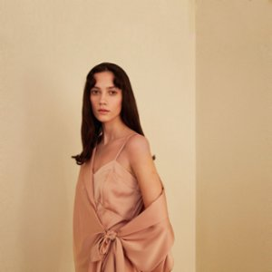 The Jacquelyns  Tj Duo Nude Dress