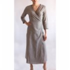Seawashed Fabrics Hera Long Dress