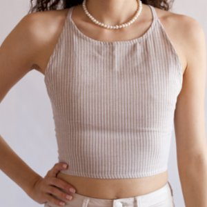 Seawashed Fabrics  Mıto Crop Top