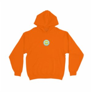 Value By Value  Patched Smile Hoodie